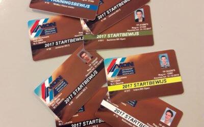 Eerste MON Startbewijzen 2017 zijn binnen bij M.C. Deurne
