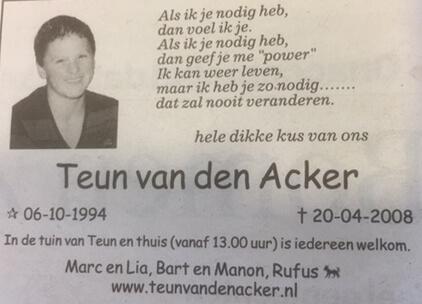 Teun van den Acker