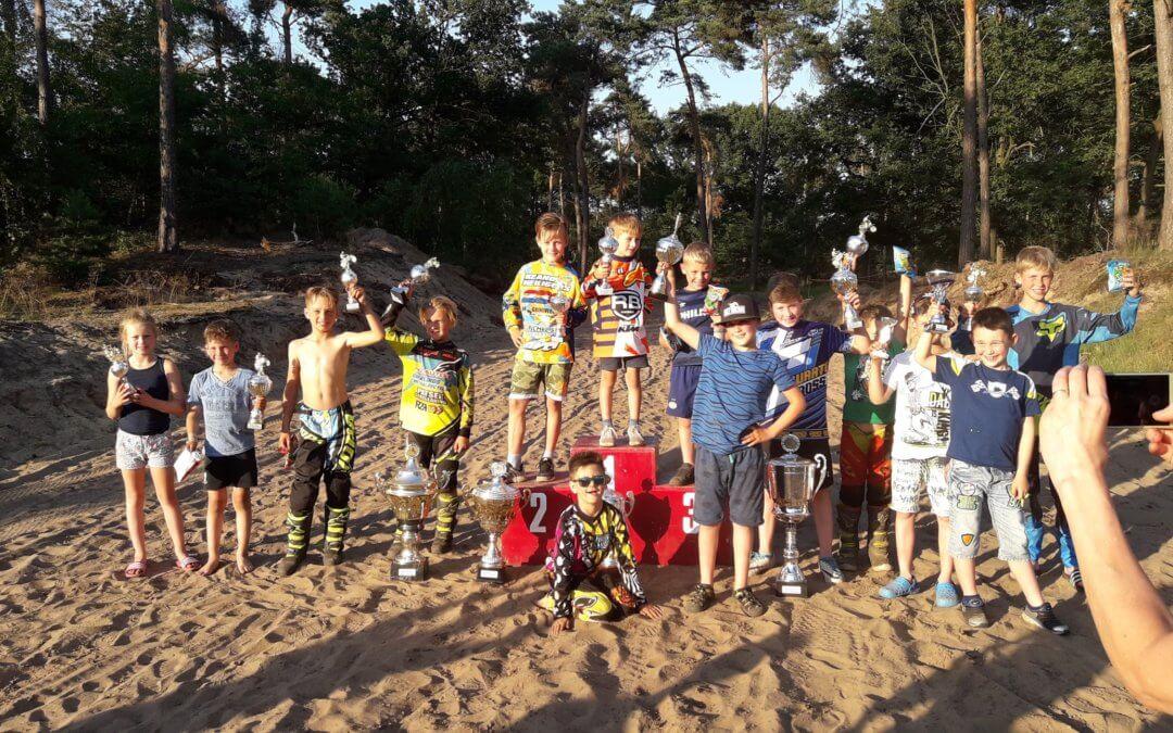 Schema jeugdwedstrijd tot en met 85 cc en opstapwedstrijd 27 juni 2018