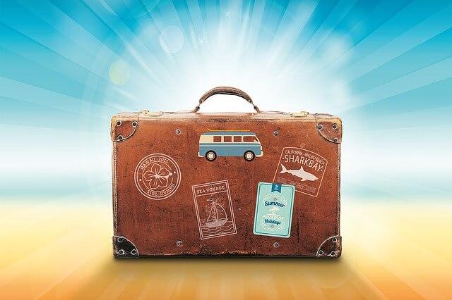 Webmaster met vakantie