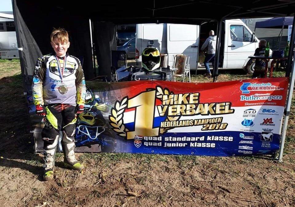 Mike Verbakel kampioen, dubbelslag bij zowel MON als KNMV