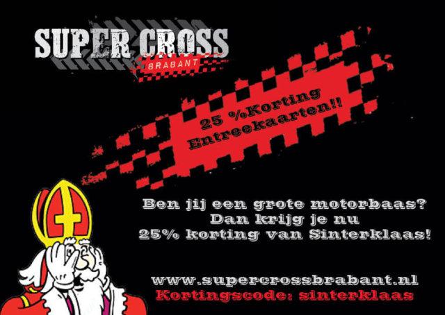 SuperCross Brabant viert Sinterklaas!!