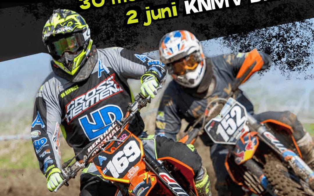 WEDSTRIJDINFORMATIE NK MOTORCROSS DEURNE  – MON – Donderdag 30 MEI 2019