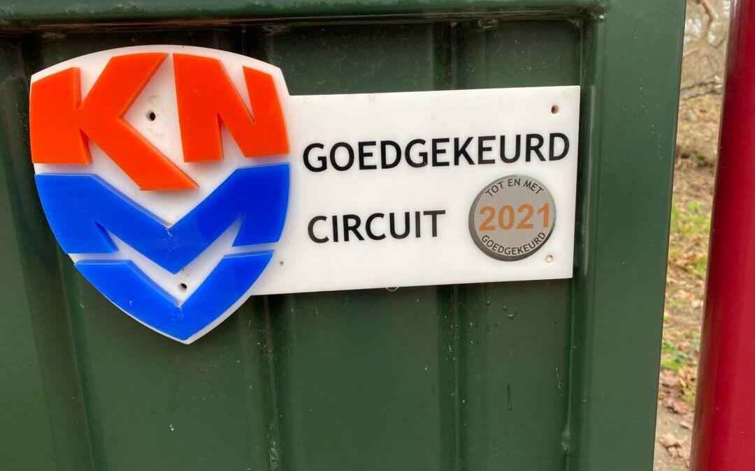 Circuit zowel KNMV als MON goedgekeurd