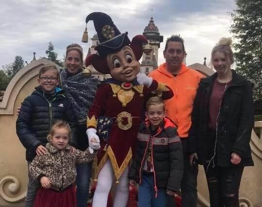 Hulp voor gezin van overleden ERWIN ROBINS